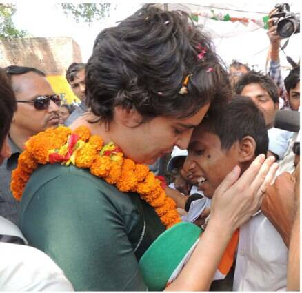 Priyanka Vadra campaigns for mother Sonia Gandhi