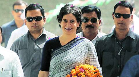 Elections 2014 LIVE: BJP attacks Priyanka Vadra, says she and Rahul both raising personal matters