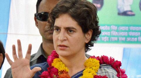 Priyanka hit out at the opponents saying her husband was being attacked for political gains.