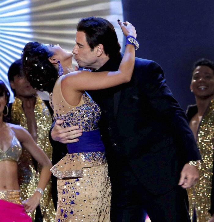And John Travolta did not miss a chance to shake a leg with Priyanka Chopra! (PTI)