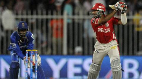 Cheteshwar Pujara opens the innings for Kings XI Punjab (Photo: BCCI/IPL)