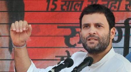The total budget of the Gujarat government on education, health and other welfare is less than Rs 10,000 crore, said Rahul Gandhi.