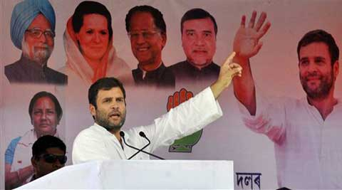 Mamata Banerjee govt saving those involved in Saradha scam: Rahul Gandhi
