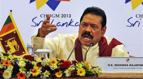 File photo of Sri Lanka President Mahinda Rajapaksa. (PTI)