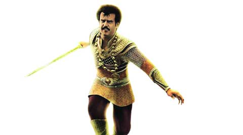 Rajinikanth, the warrior in Kochadaiiyaan