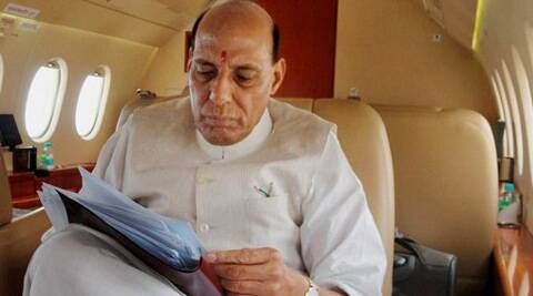 Rajnath Singh said poor farmers must be given insurance cover for their agricultural land.