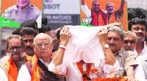 Skull caps, clerics: Rajnath  goes all out to wooMuslims