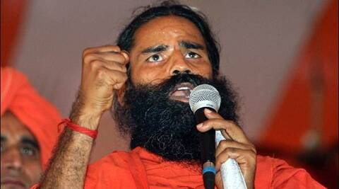 "Ramdev said ""they (AAP) are keen to join hands with BJP as their situation is shaky and they have lost the public support."" (PTI)"