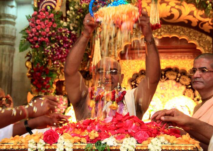 Ram Navmi celebrated at ISKCON Temple