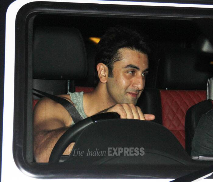 Ranbir was also snapped leaving a suburban gym after his workout. (Photo: Varinder Chawla)