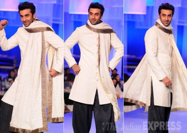 B-town's men Ranbir, Big B, Akshay, Sidharth, Farhan walk the ramp for the ladies