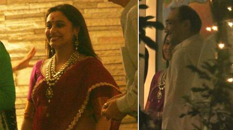 Rani Mukerji issued a statement to share the happy news with her fans.