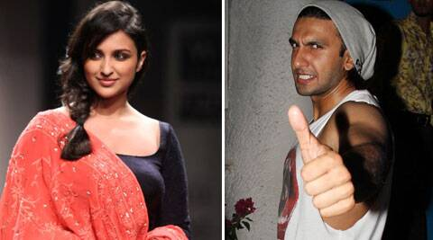 Ranveer and Parineeti were recently snapped in Lavasa.