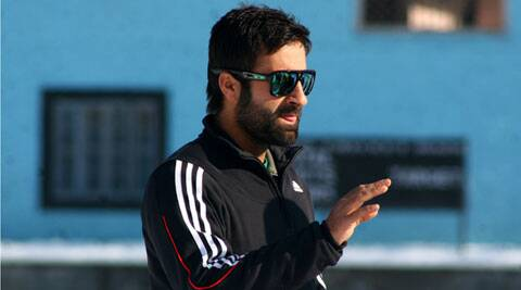 Cricketer Parvez Rasool. (IE Photo)