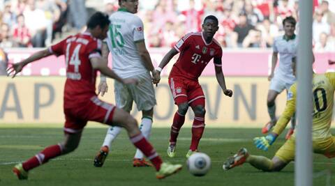 Veteran striker Claudio Pizarro scored twice in Bayern's win gainst Werder Bremen. (AP)