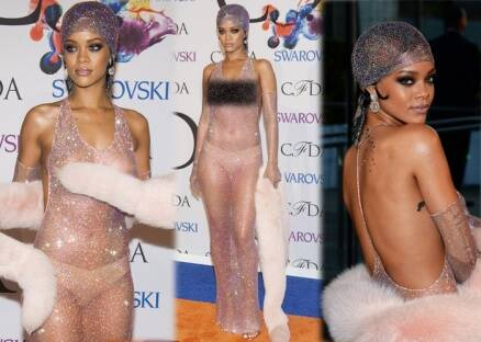 Rihanna bares all, once again!