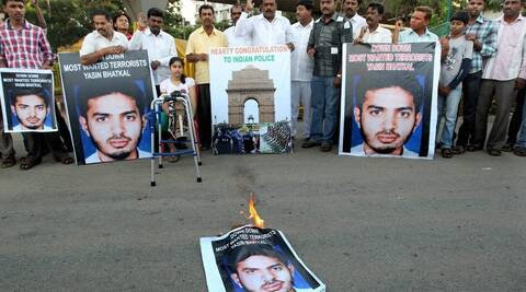Until two months back, they were ordinary bike-snatchers. Now, they are in an Indian jail in connection with terrorism charges. (PTI)
