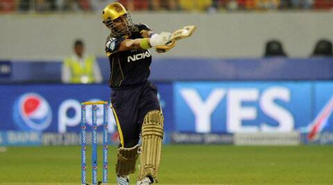 Robin Uthappa's valiant half-century went in vain as Kolkata Knight Riders lost to Delhi Daredevils. (BCCI/IPL)