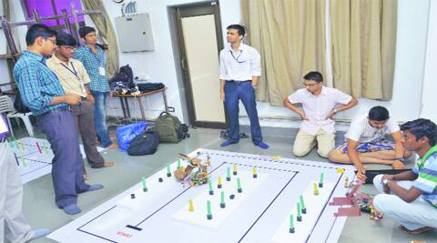 Smart Robots Steal The Thunder At Iit B Competition Cities News