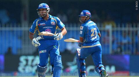 Rohit Sharma has had a quiet IPL 7 so far in the UAE (Photo: BCCI/IPL)
