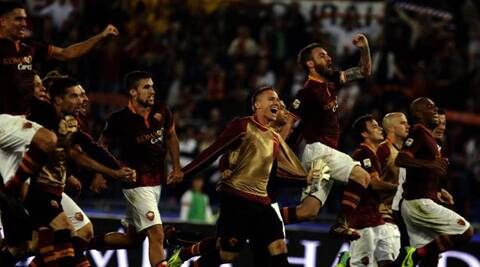 Roma are still eight points behind Juve, who beat Bologna 1-0 and are looking to become the first Serie A side to break the 100-point barrier as they march towards a 30th scudetto. (AP)