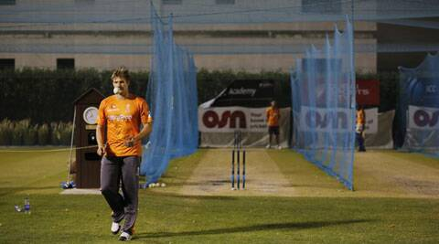 Rajasthan Royals captain Shane Watson (in pic) will have a huge role to play with the bat against a fearsome CSK bowling attack on Wednesday.  (Twitter/Rajasthan Royals)