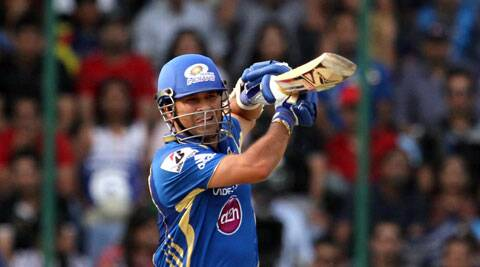 Former India batsman Sachin Tendulkar was named Mumbai Indians 'icon' on Wednesday. (IE Photo)