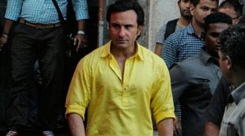 Saif, who has triple role in the movie, is keen to add an accent to his dialogues to get the comic timing perfect.