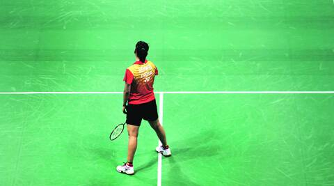 Saina Nehwal lost 21-16, 21-14 in 38 minutes to end her India Open hopes on Friday. (Oinam Anand)