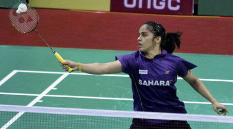 Saina lost to Eriko Hirose 21-16, 15-21, 11-21 after battling for 62 minutes in opening round of the Singapore Super series. (PTI)