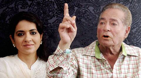 Salim Khan at the launch of Narendra Modi's site.