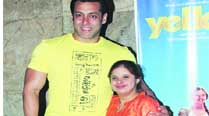 Salman Khan with Gauri Gadgil