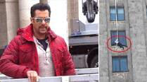 Salman Khan performs risky stunts for 'Kick' in Polland