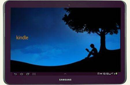 Samsung, Amazon on same page, launch Kindle for Samsung