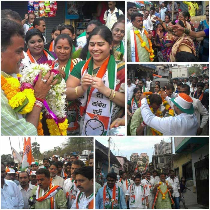 "@sanjaynirupam: ""Started Today's Padyatra from Kajupada, Borivali East.Thanks for your great support."""