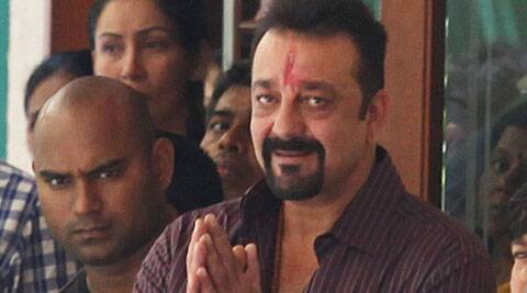 Sanjay Dutt's friend shot the clip on his phone.