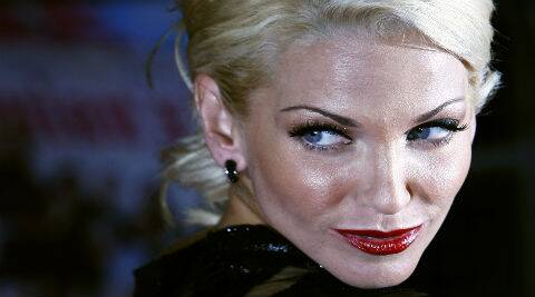 Sarah Harding: I'd love to do a massive feature film, an American production, something a little different. (Reuters)