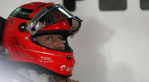 Schumacher, who won a record 91 Grand Prix victories, left the sport last year after a disappointing three-year comeback with Mercedes (File)