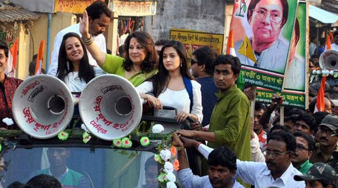 Bollywood stars continue campaigning for ongoing Lok Sabha elections