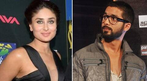 Kareena took Shahid by surprise when she cordially greeted him by saying - 'Hello Shahid'. (Photo: Twitter)