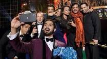 Kevin Spacey in Bollywood Oscars selfie with Shahid, Sonakshi