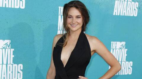 Shailene Woodley: I don't own many clothes. I own 3 t-shirts. (Reuters)