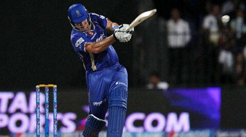 On his day Shane Watson can be as effective as Suresh Raina (Photo: BCCI/IPL)