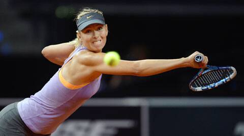 Two-time defending champion Maria Sharapova cruised past Sara Errani 6-1 6-2 set up a final against Ana Ivanovic (AP)