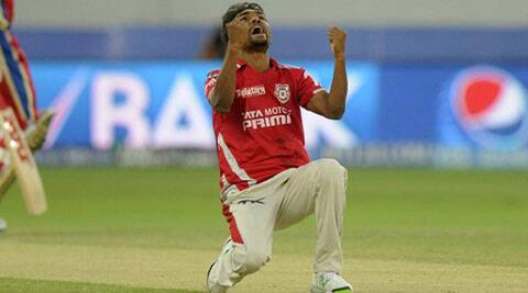 Kings XI Punjab medium pacer Sandeep Sharma won his second consecutive man of the match award against Royal Challengers Bangalore on Monday in Dubai. (BCCI/IPL)
