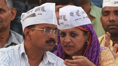 AAP leader Shazia Ilmi courted controversy with her remarks that Muslims should become 'communal' for their own good when they vote. (PTI)
