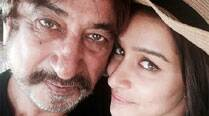 Busy Shraddha Kapoor takes time out for daddy Shakti Kapoor