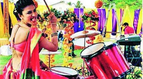 Shruti Haasan as a Maharashtrian mulgi  has some fun on the drums