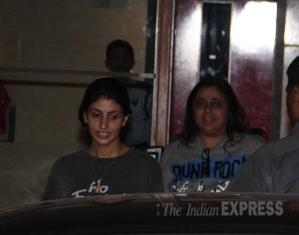 Shweta Nanda's dinner with childhood friend Karan Johar