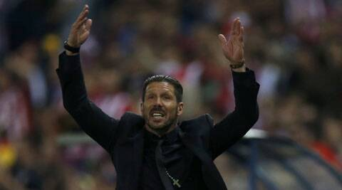 Atletico coach Diego Simeone (Reuters)